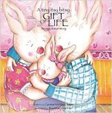A tiny itsy bitsy GIFT OF LIFE. An egg donor story. Written by Carmen Martinez Jover, illustrated by Rosemary Martinez.