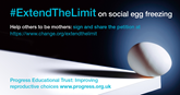 #ExtendTheLimit for social egg freezing – give women reproductive choice