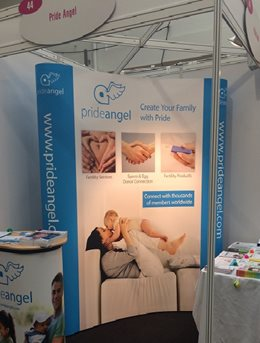Pride Angel at the Fertility Show 2014