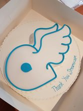 Thank you Dreamscape, for our fantastic new website, hope you enjoyed the cake