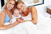 Lesbian couples choosing new fertility treatment 'shared motherhood'- the pros and cons.