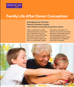 Family Life after Donor conception - Grandparents stories - Lesbian couples