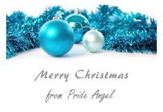 Christmas Wishes from Pride Angel