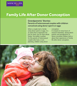 Family Life after Donor conception - Grandparents stories - Heterosexual couples