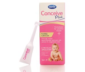 Conceive Plus 3 pre-filled applicators image